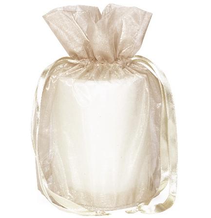Drawstring Organza Bag for Candle