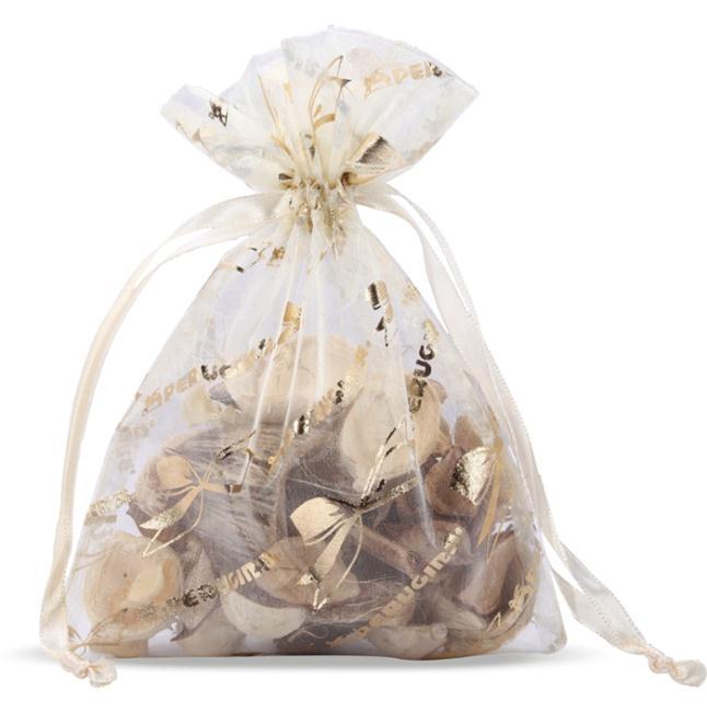 Sheer Flat Organza bags for Sachets