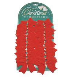 Customized Christmas Velvet Ribbon Bows