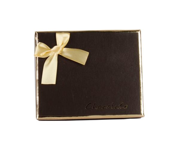 Chocolate Gift Box Packing Satin Bows