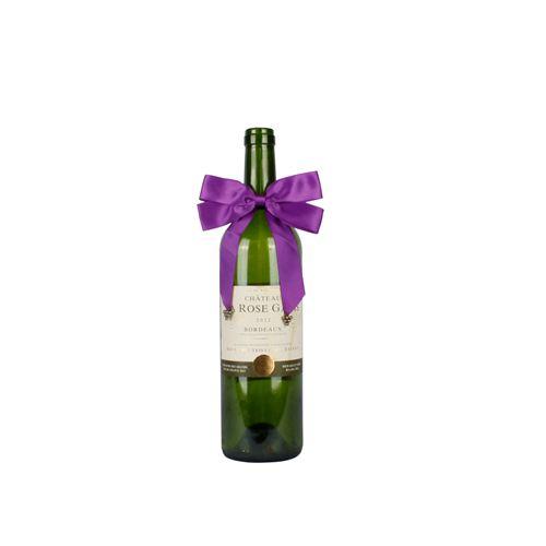 Wine Bottle Decorative Satin Bows