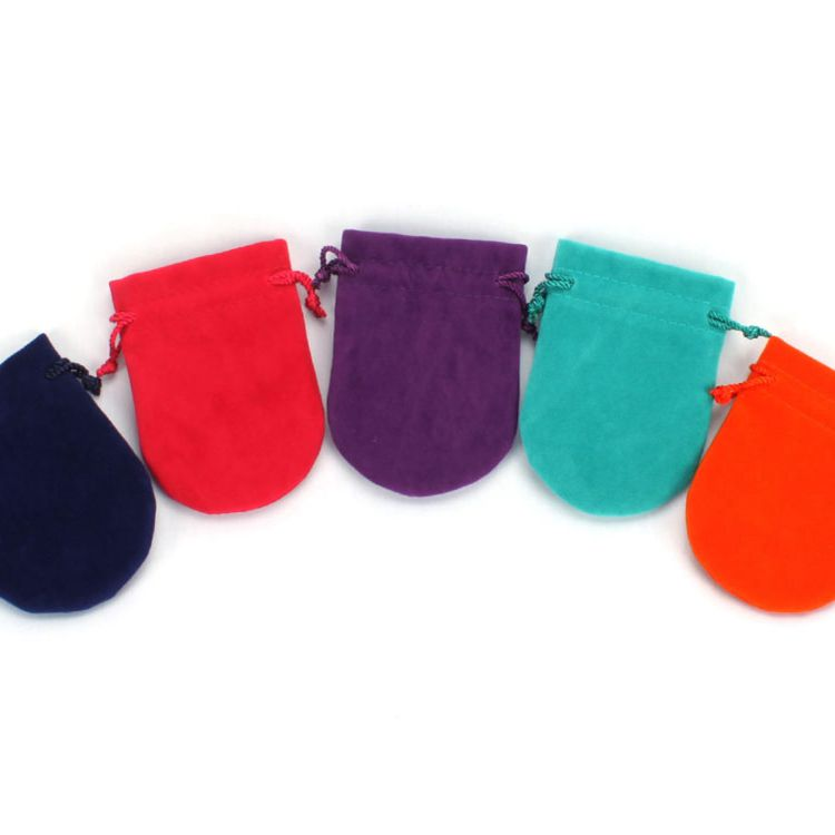 Personalized coloful Velvet Jewelry Bag
