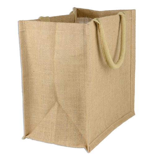 Custom Natural Shopping Burlap Tote Bags