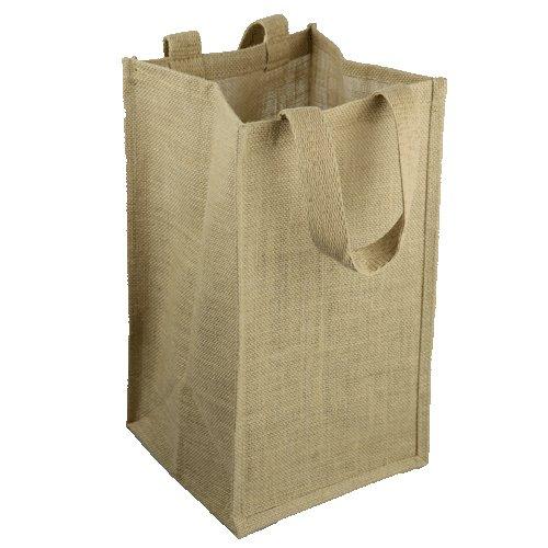 Large Natural Shopping Burlap Handbags