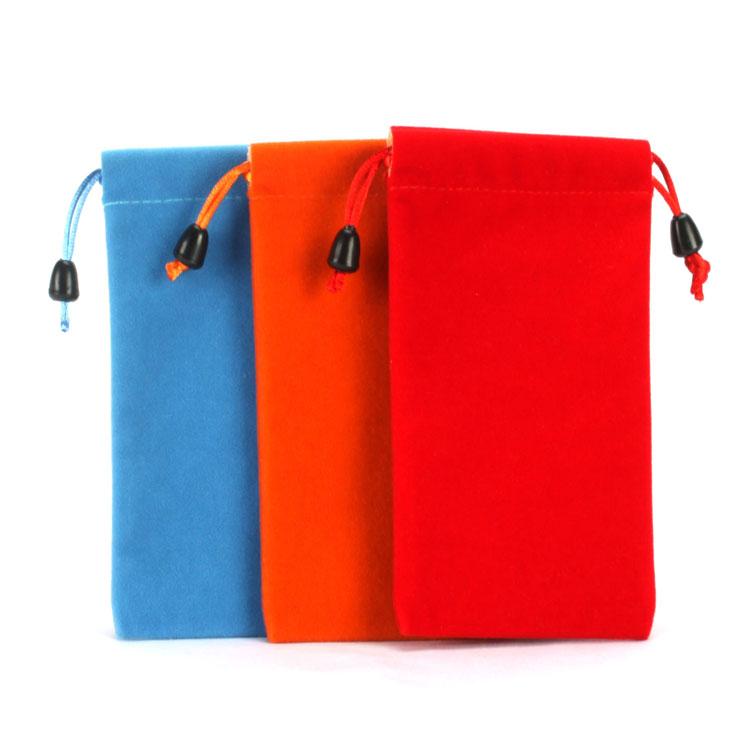 Small Phone Velvet Bag For Wholesale