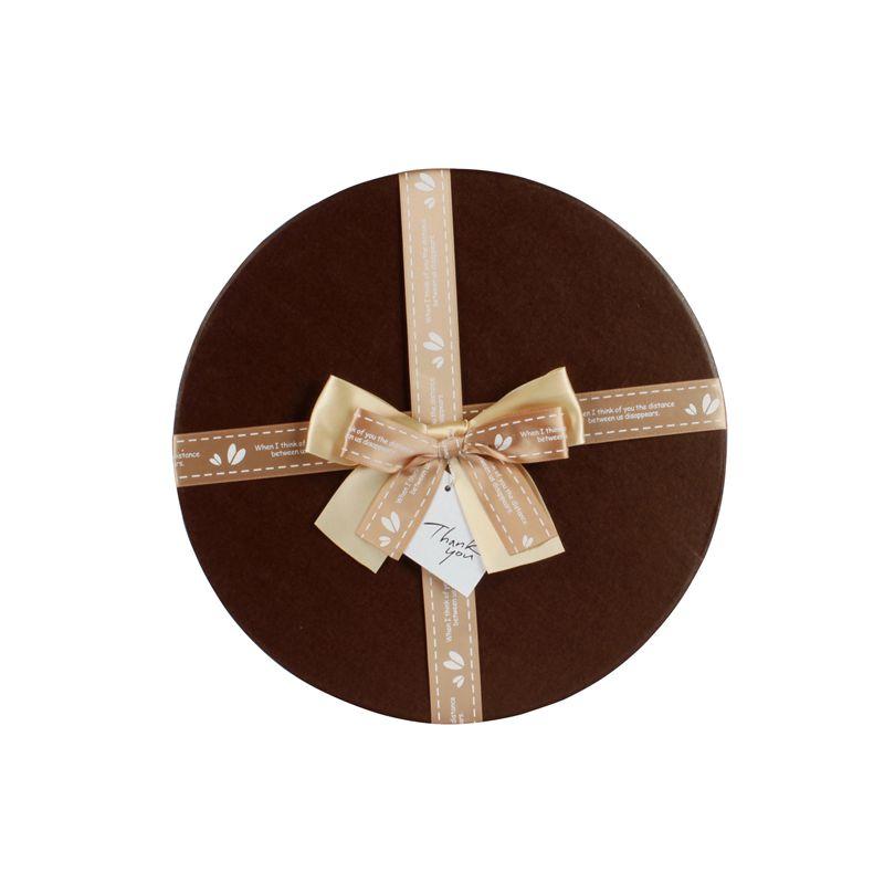 Customized Lgo Gift Box Packing Satin Bows
