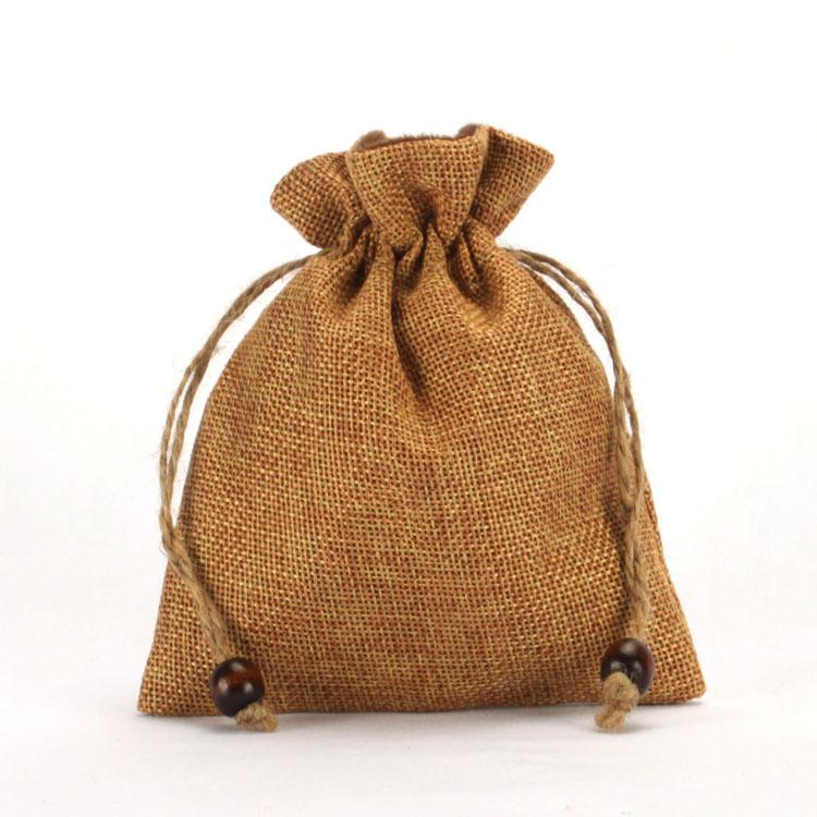 Small Gift Drawstring burlap Sack