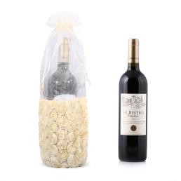 Personalized White Wine Gift Bags