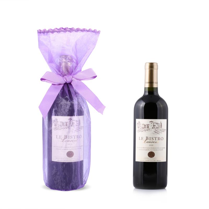 Organza Wine Bottle Bags