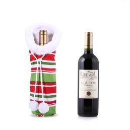 Personalized Christmas Wine Bottle Bags