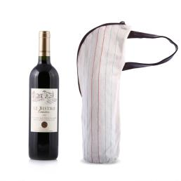 Round Bottle Wine Gift Tote Bags