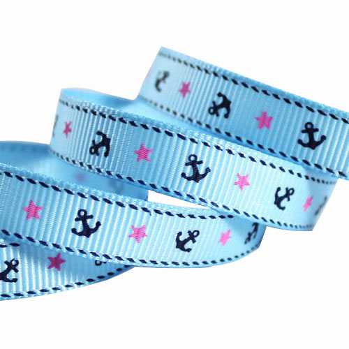 Blue Grosgrain Ribbon Sale