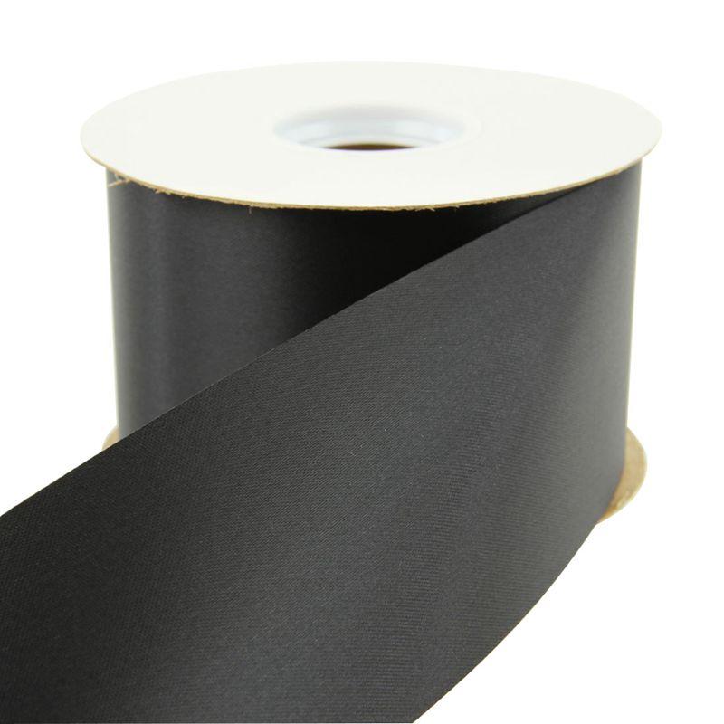 Satin Ribbon Black
