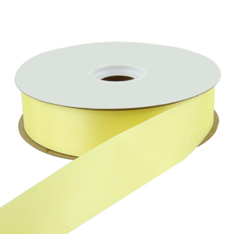 Satin Ribbon Yellow 100 YDS
