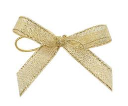 Gift Metallic Ribbon Bow for Packaging