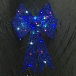 Glitter Bow Colorful LED Lamp RoyalBlue