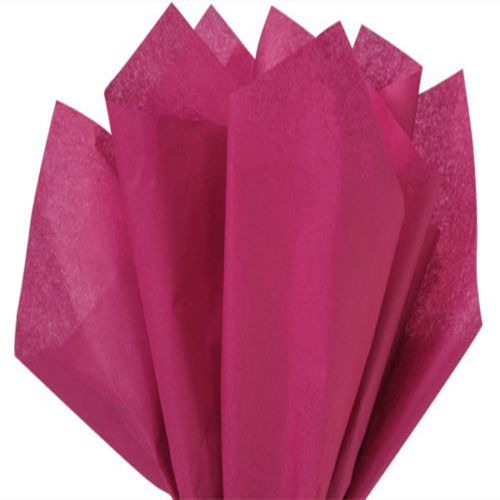 Burgundy Tissue Wrapping Paper
