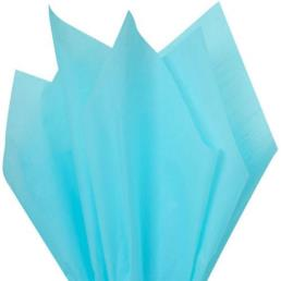 Light Blue Tissue Wrapping Paper