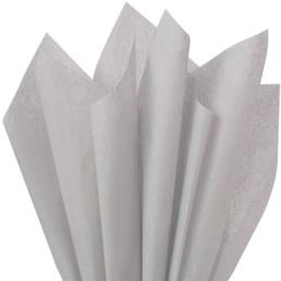 Grey Tissue Wrapping Paper