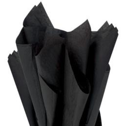 Black Tissue Wrapping Paper