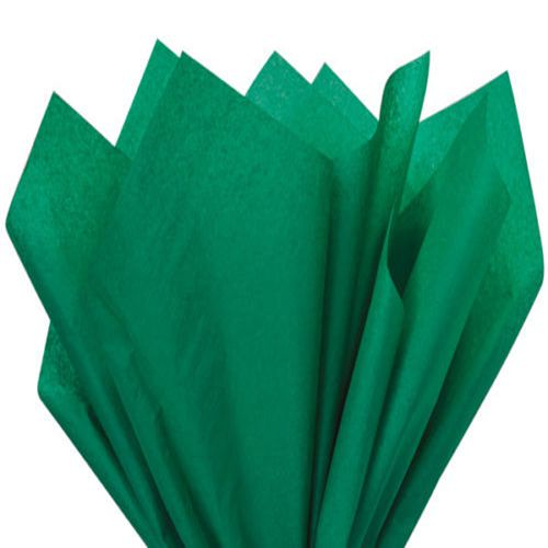 Green Tissue Wrapping Paper