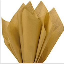 Gold Tissue Wrapping Paper