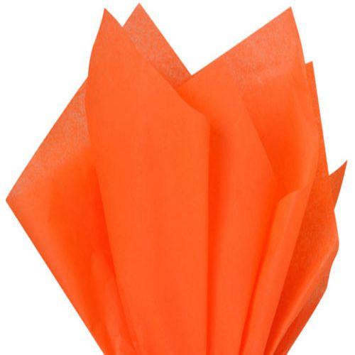 Orange Tissue Wrapping Paper