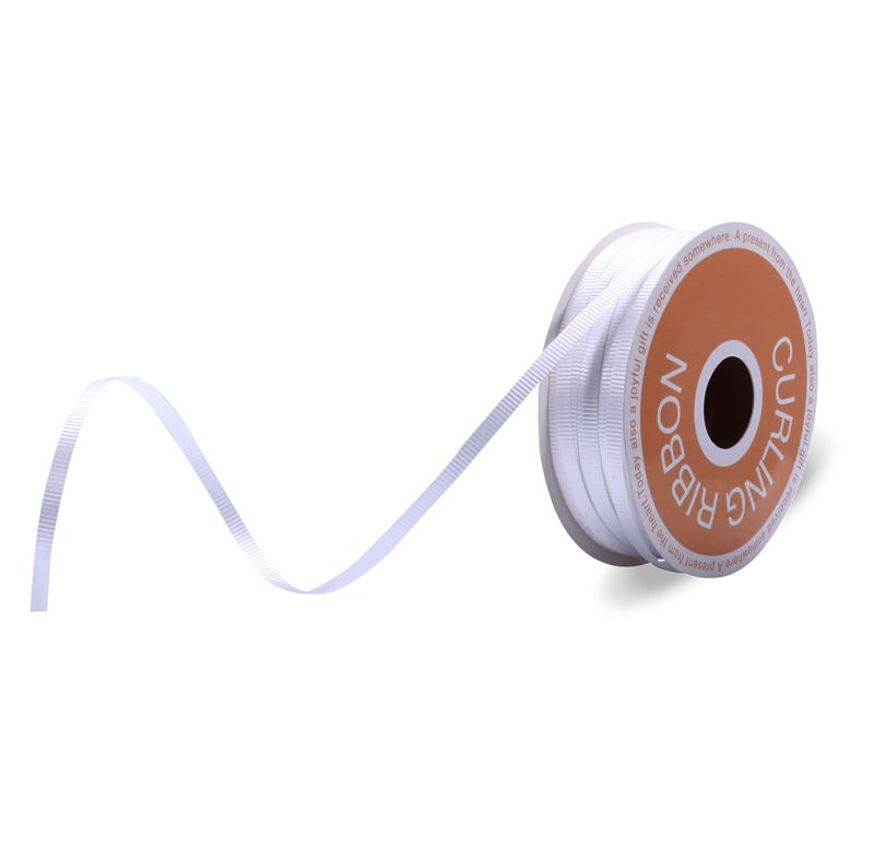 Cusotmized Color Curling Ribbon White