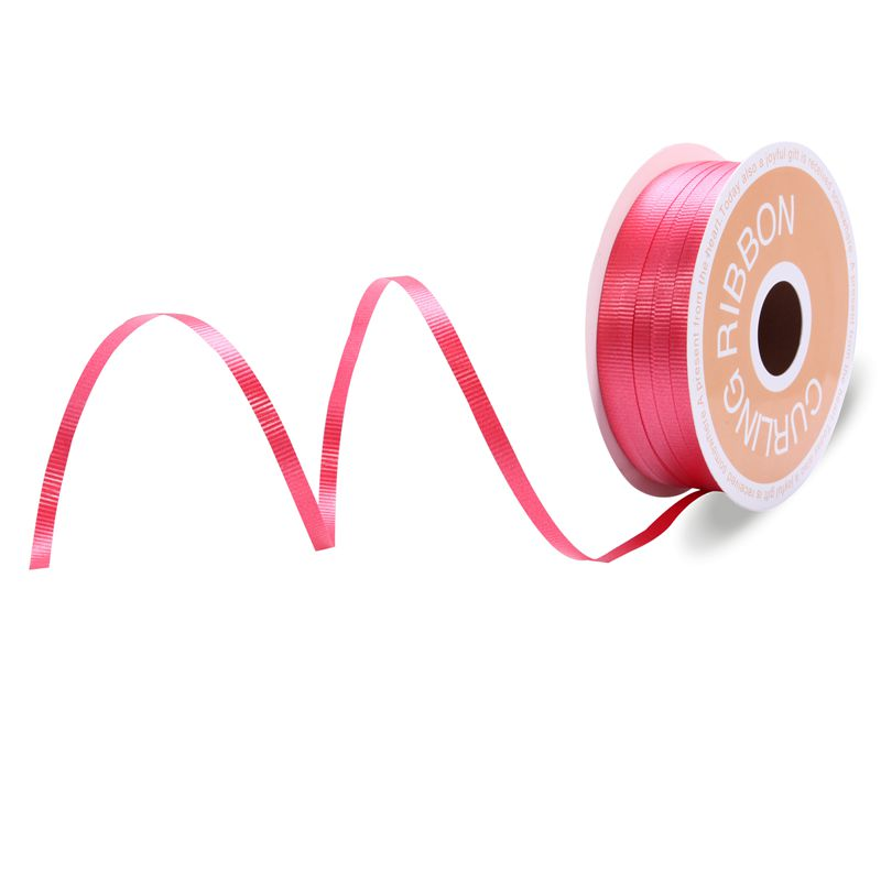 Cusotmized Color Curling Ribbon Red