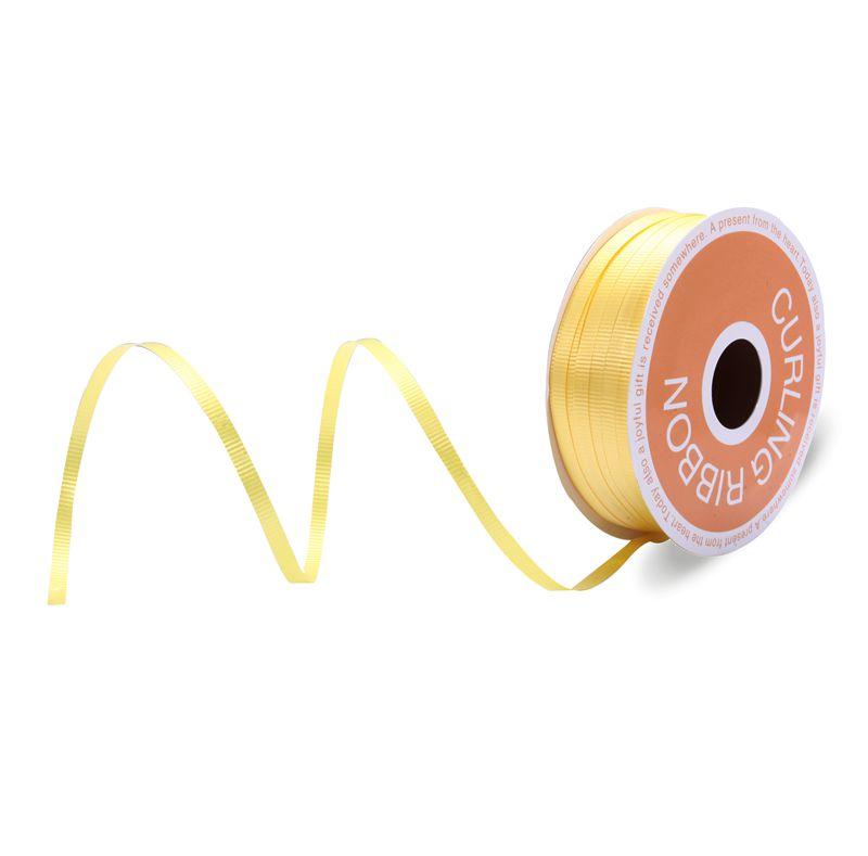 Beautiful Decorative Curling Ribbon Yellow