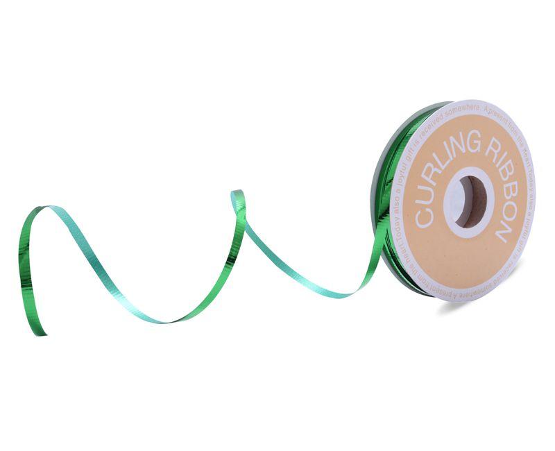 Beautiful Decorative Curling Ribbon Green