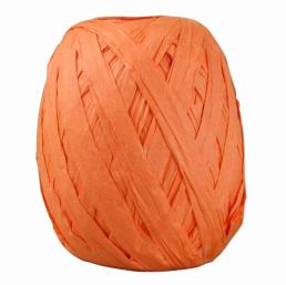 Orange Paper Raffia Wholesale