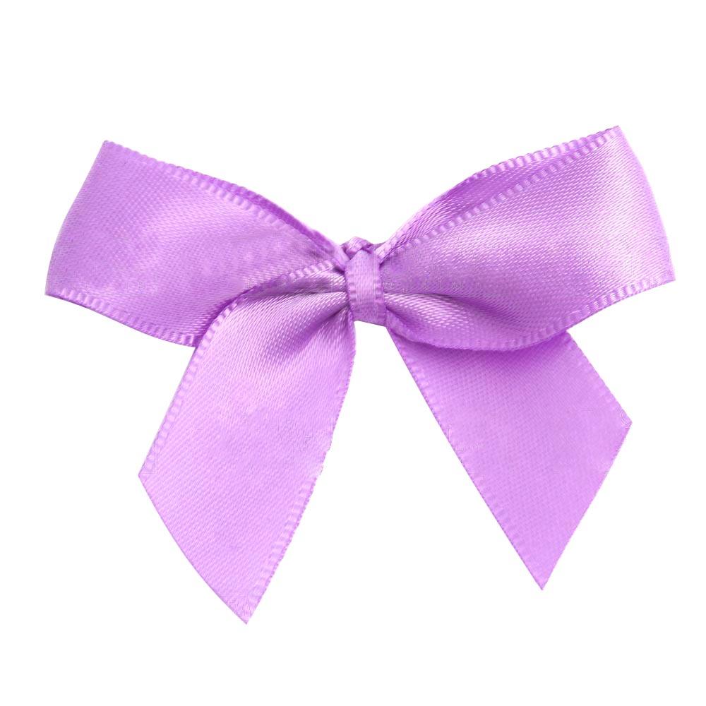 Satin Ribbon Christmas Wrapping Gift Bows Lavender