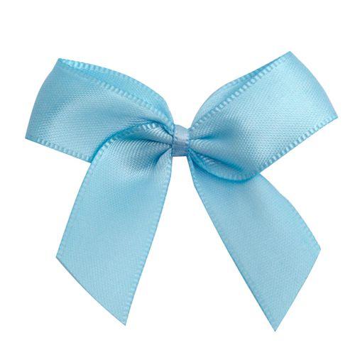 Satin Ribbon Christmas Wrapping Gift Bows Baby Blue