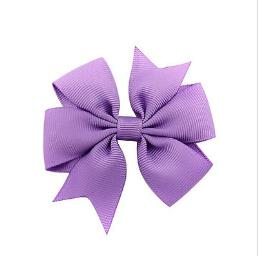 Grosgrain Ribbon Christmas Wrapping Gift Bows Lavender