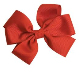 Grosgrain Ribbon Christmas Wrapping Gift Bows Rust