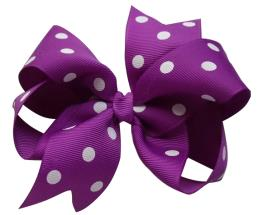 Grosgrain Ribbon Dot Printing Wrapping Gift Bow