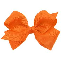 Grosgrain Ribbon Christmas Wrapping Gift Bows Orange