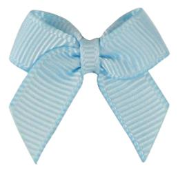 Grosgrain Ribbon Christmas Wrapping Gift Bows Babyblue