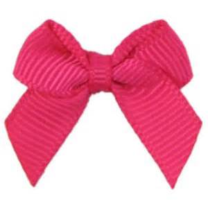 Grosgrain Ribbon Christmas Wrapping Gift Bows Hotpink