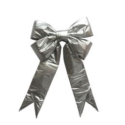 Giant Sliver Decoration Bows For Christmas