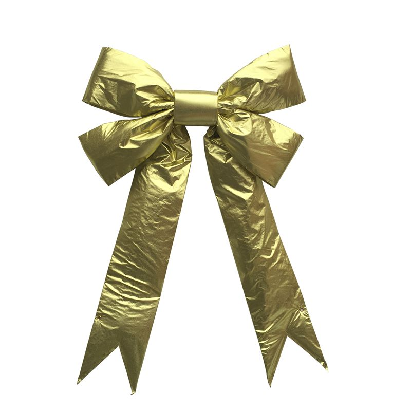 Metallic Gold Christmas Decorative Gift Bows
