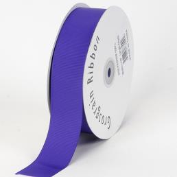 Purple Grosgrain Ribbon Solid