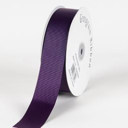 Plum Grosgrain Ribbon Solid