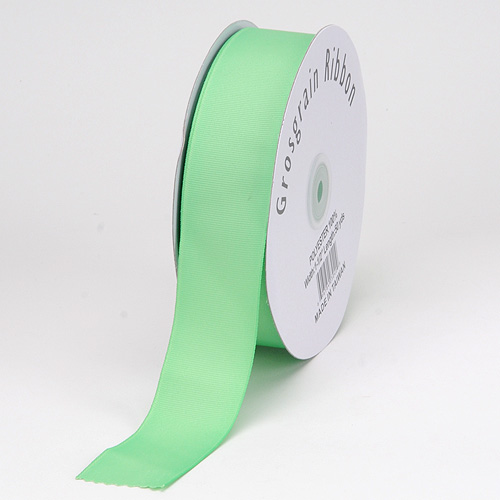 Mint Grosgrain Ribbon Solid