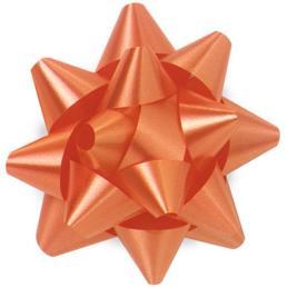 Orange Curly Ribbon Bow