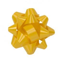 Yellow Curly Ribbon Bow