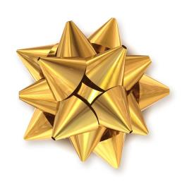 Gold Star Bow