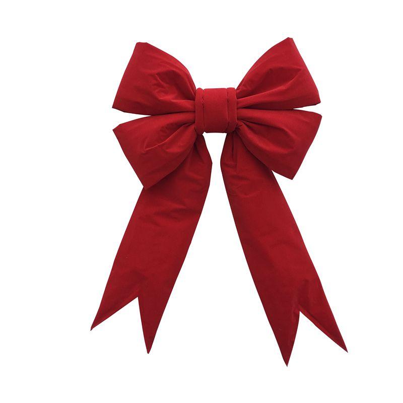 Velvet Christmas Outdoor Decoration Bow