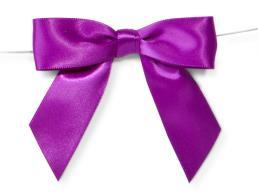 Handmade Multicolor Satin Ribbon bows